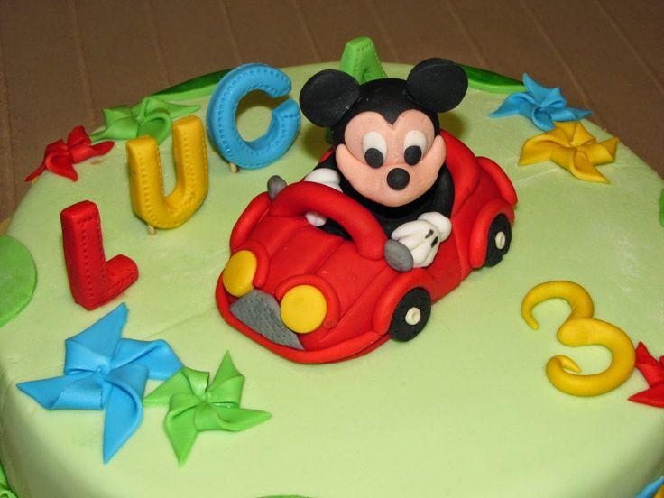 Bun de toRt: Mickey Mouse pentru Luca