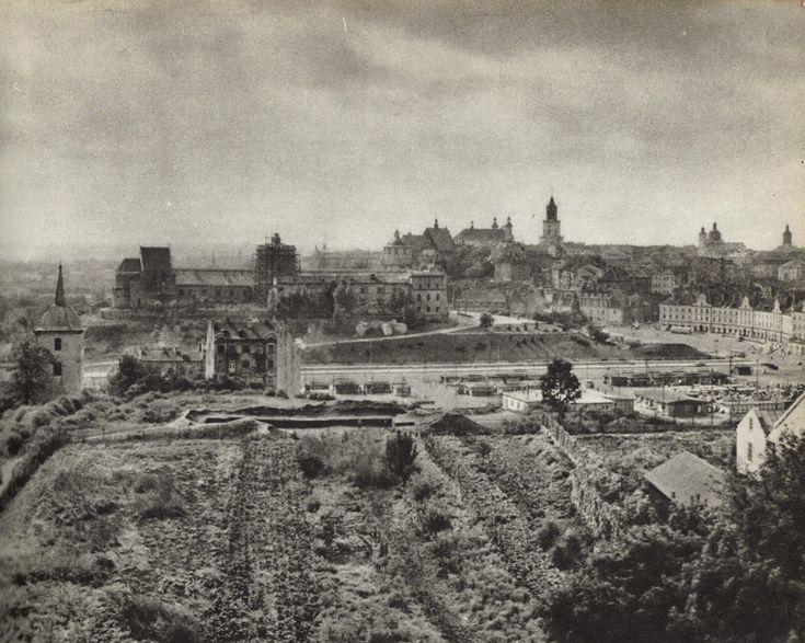 Zamek i Stare Miasto w roku 1964