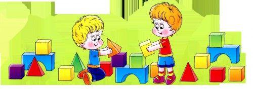 картинки дети играют в кубики6
