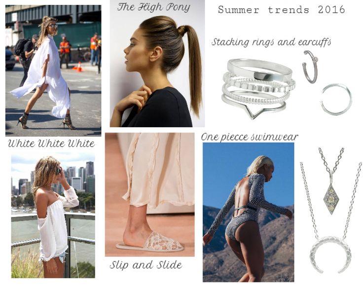 Hottest summer trends 2016 #hvisksummerstyle #stylist #fashion #summer #style #jewellery