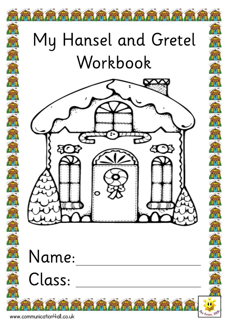 Hansel and Gretel Work Pages