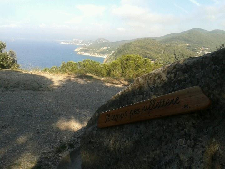 Trekking at Enfola. Views on NE side coast.