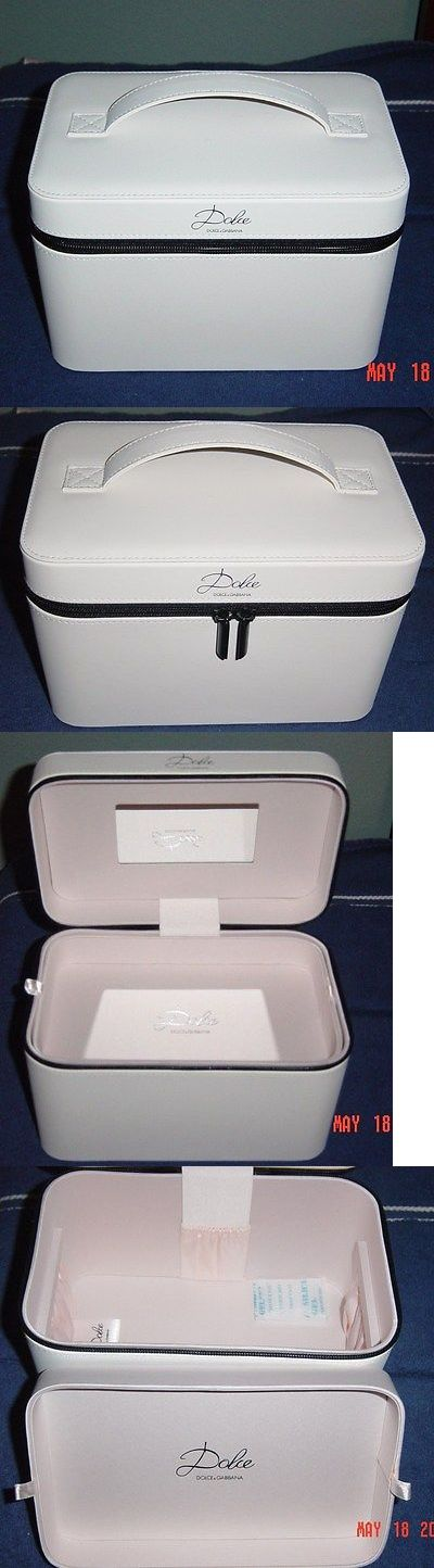 Rolling Makeup Cases: New-Dolce And Gabbana Women S Makeup Case Vanity Travel Cosmetic Box In Ivory-Nice -> BUY IT NOW ONLY: $34.95 on eBay!