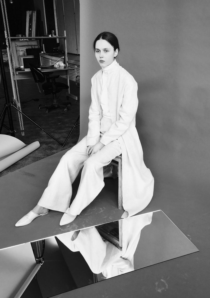 Simplicity - clean white tailoring, minimal fashion editorial // THISISNON for The RUH