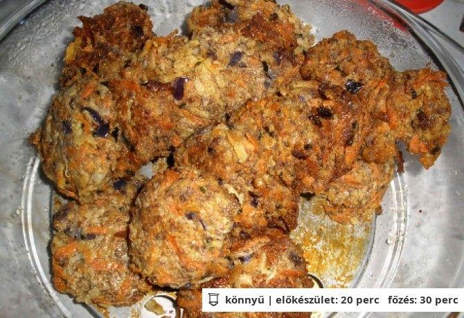 Paleo zöldséges fasírt