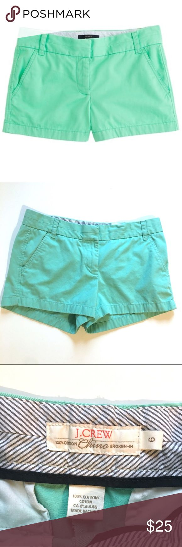 J. Crew Chino Teal Shorts J. Crew Chino Teal Shorts. Great condition! J. Crew Shorts