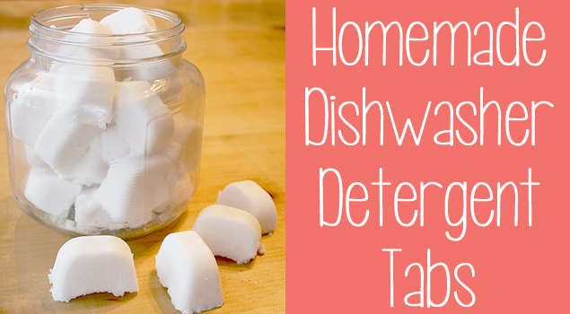 How to Make Your Own Best Dishwasher Detergent Tabs. This is a good alternative to try to make your dishes super clean and fantastic to look at.