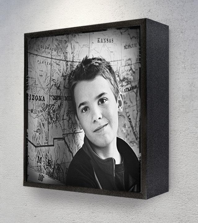Frame 12x12 Black