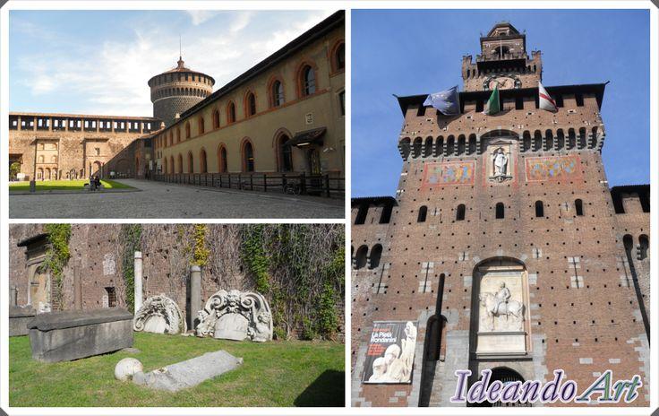 Castello Sforzesco en Milán by IdeandoArt