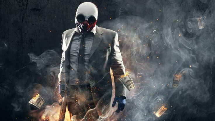 Vídeo Game Payday 2  Wolf (Payday) Papel de Parede