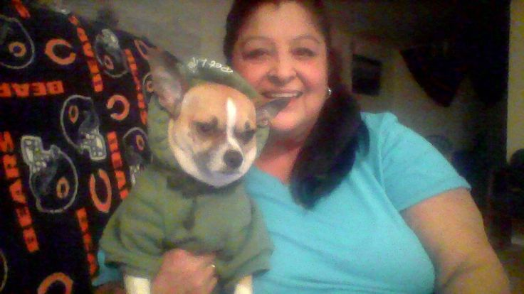 Diana won this dog hoodie (+20 bids) for $0.02 using only one voucher bid! #OneBidWin