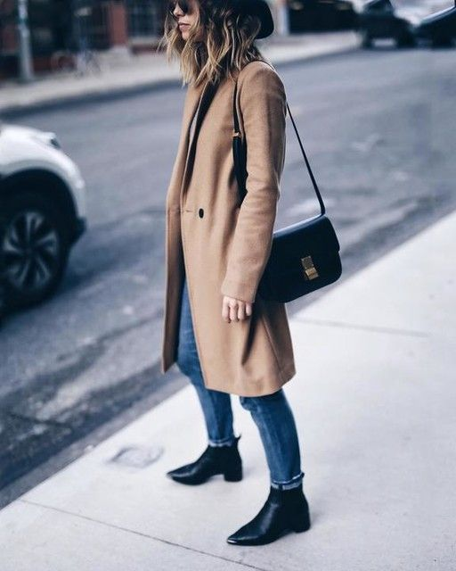 Wool coat season is back.