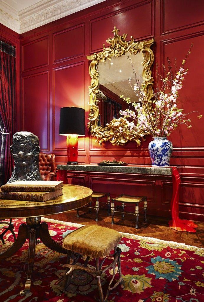 William T. Georgis | Kips Bay Decorator Show House 2014 | The English Room