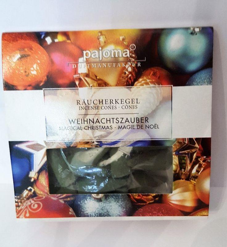 Räucherkegel Weihnachtszauber Aroma Sticks Xmas Raumduft Weihnachten Räucher