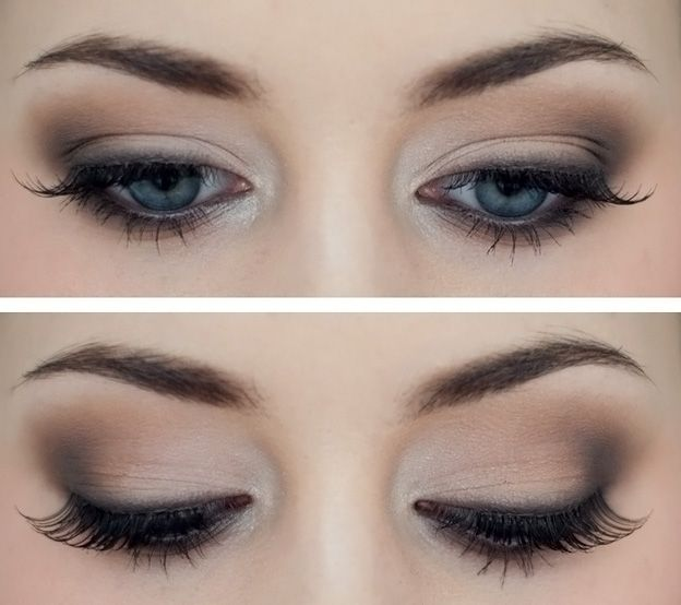 I love the simplicity of this. Would look amazing with a dark, bold lip