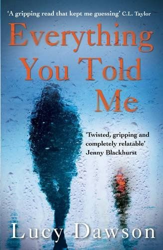 Audiobook proofing - Everything You Told Me by Lucy Dawson https://www.amazon.co.uk/dp/1782396276/ref=cm_sw_r_pi_dp_x_vE4LybHRC83HA
