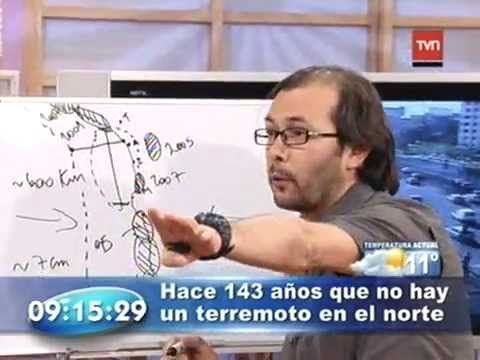 Marcelo Lagos explica el terremoto para el norte de Chile y norte del Peru - https://www.youtube.com/watch?v=5z3NhzDL-k8 La laguna o calma sismica mas antigua de Chile.
