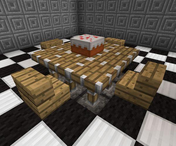 Die Besten 20 Minecraft Mbel Ideen Auf Pinterest