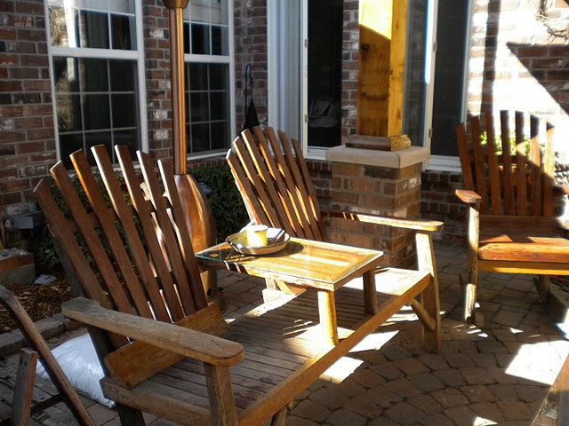 Napa Style Reclaimed Wood Chairs