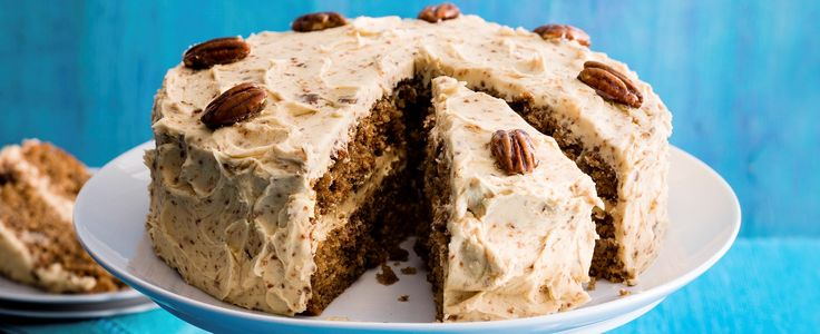 Classic coffee cake is one of our all-time favourite afternoon treats. In this recipe, we've given it a modern twist to include deliciously crunchy pecan brittle.