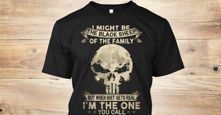 Discover The Black Sheep Punisher T T-Shirt from Family's Store only on Teespring - Free Returns and 100% Guarantee - I Might Be The Black Sheep Of The Family But...