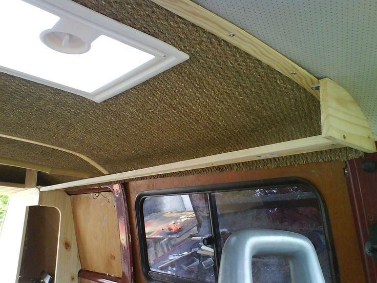 ciel de toit id e int rieur vw t1 t2 t3 pinterest ciel et am nagement. Black Bedroom Furniture Sets. Home Design Ideas