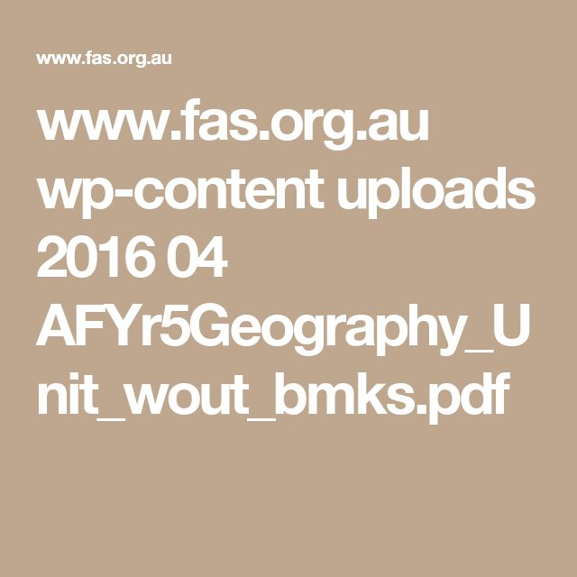 www.fas.org.au wp-content uploads 2016 04 AFYr5Geography_Unit_wout_bmks.pdf