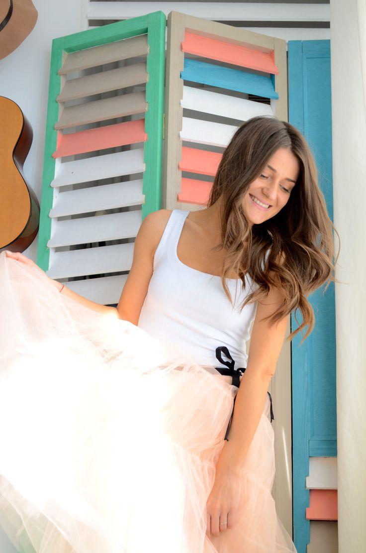 #LeTulle #pinkskirt #smile #goodmood #easiness #sunisup #2015 #gotowww https://www.facebook.com/LeLovelyTulle