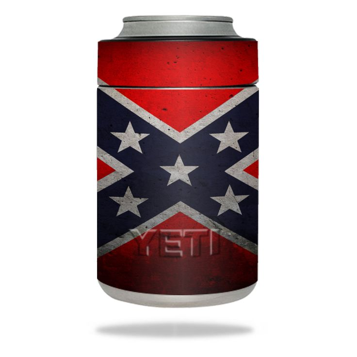 Rebel Flag Cell Phone Skin for YETI Rambler Colster