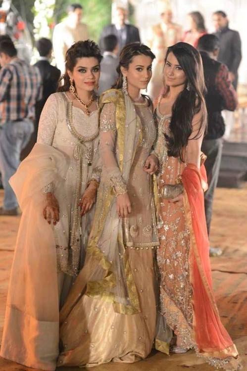 Pakistani wedding outfits... beautiful