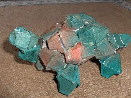 80 best images about egg carton art on pinterest crafts for Plastic egg carton crafts