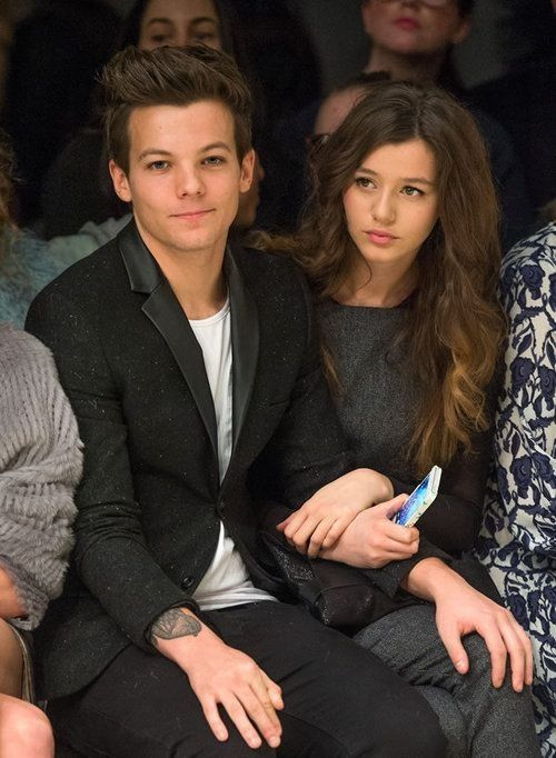 Eleanor and Louis. Awe look at his hand!! ♥