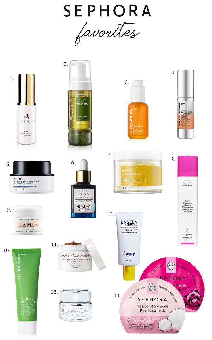 Current Sephora Skincare Favorites Sephora Skin Care Best