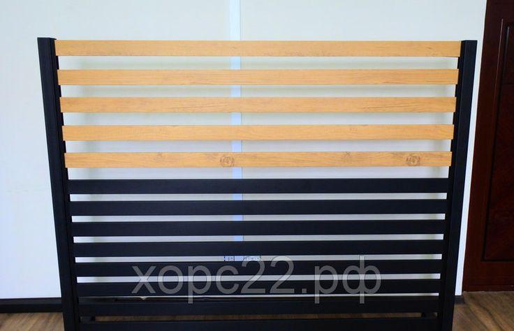 Горизонтальные металлические заборы , фото 2