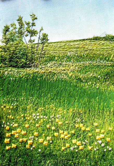 My Sweet Prairie: * Fibre Art