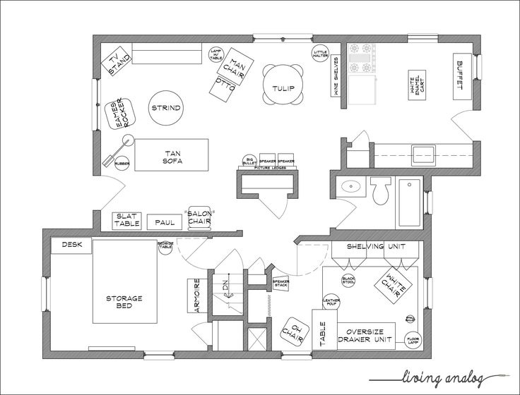 Dining Room Layout Planner. Part 36