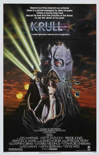 A fantastic poster for a fantastic movie - Krull the epic sci-fi cult film from…
