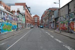 Graffitis, Dublin.