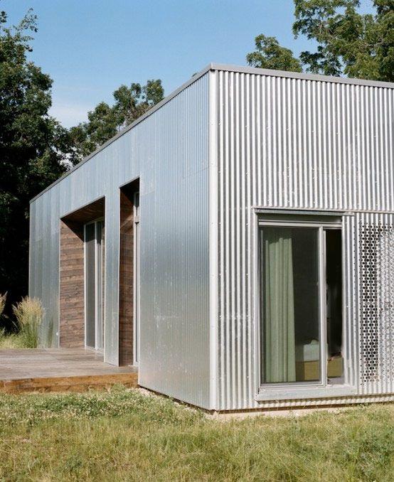 1 stycke container – mer behövs inte för att sätta grunden till ett stilsäkert minimalistiskt funkishus. Låt dig inspireras av 15 otroliga containerhus.