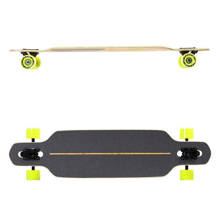 Longboard Drop Oxelo Skateboard Roller Skate