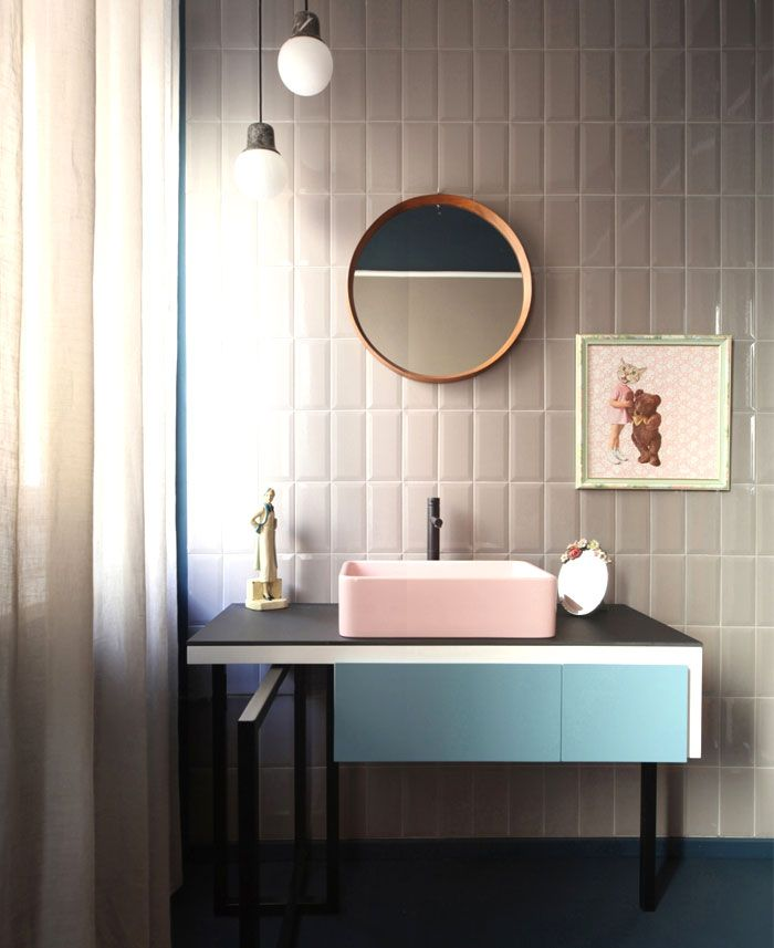Beautiful Bathroom Color Schemes For 2018: Bathroom Trends 2017 / 2018