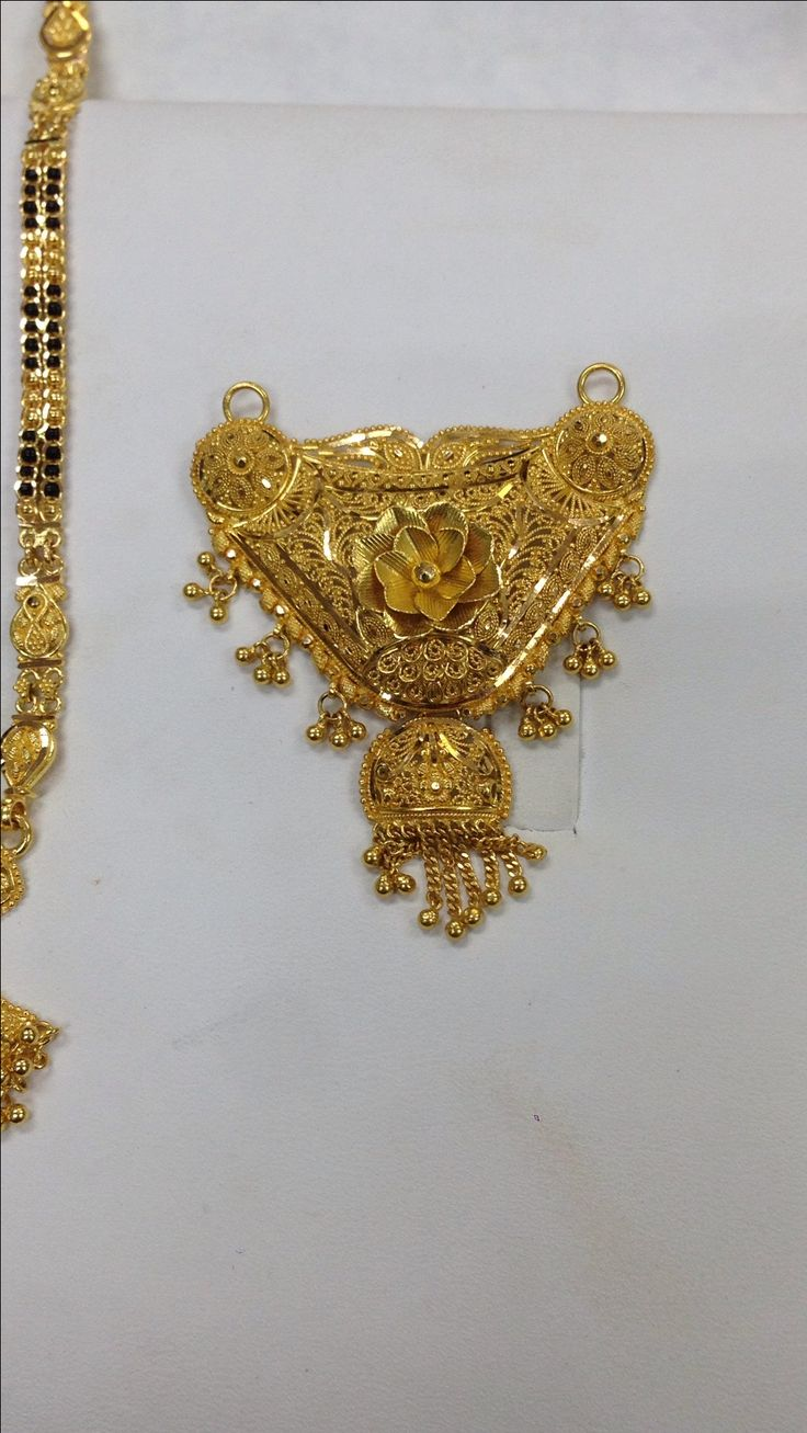 pealrs gold wed newly ps set jagdamba pendant sri