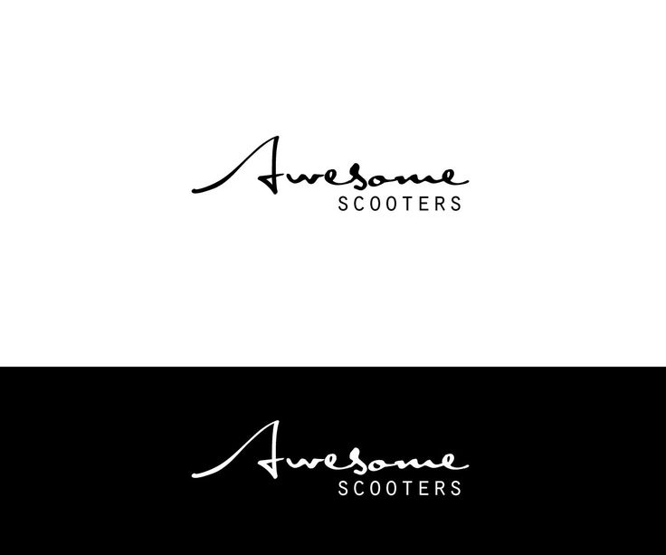Awesome Scooters sales and service of scooters ... Elegant, Playful Logo Design by kmatt