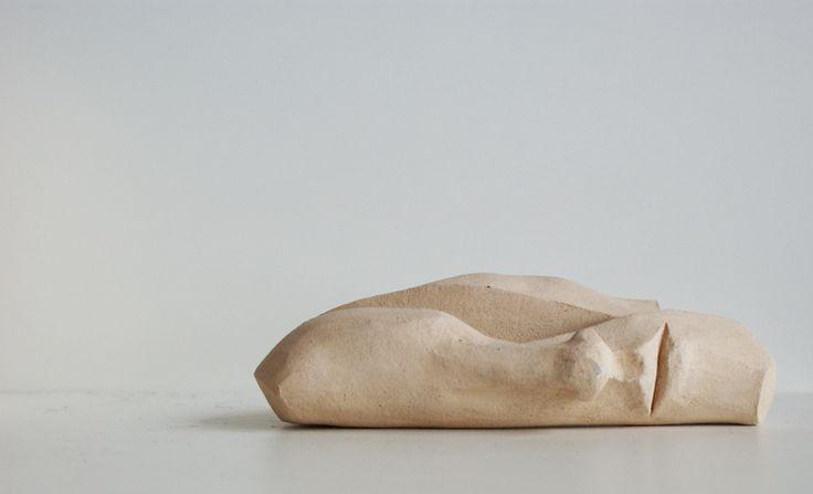 Rzeźba ceramiczna - twarz w Ursu Design na DaWanda.com