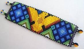 Huichol Beading Patterns ile ilgili görsel sonucu