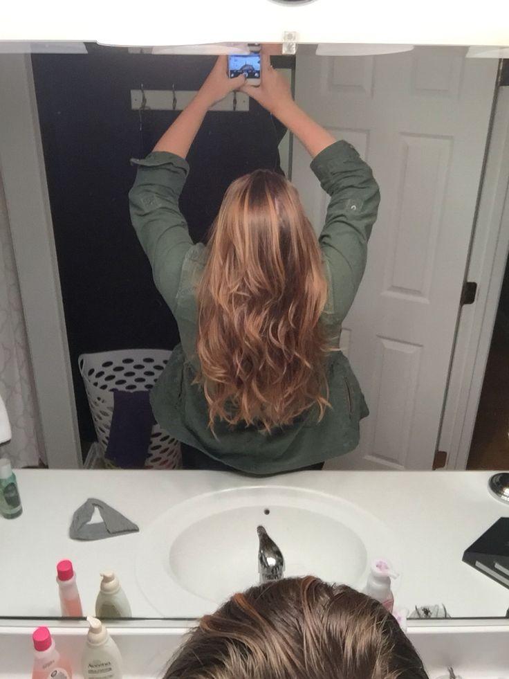 Light Carmel brown hair