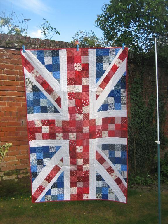 - Pride & Patriotism, a union Jack quilt I made