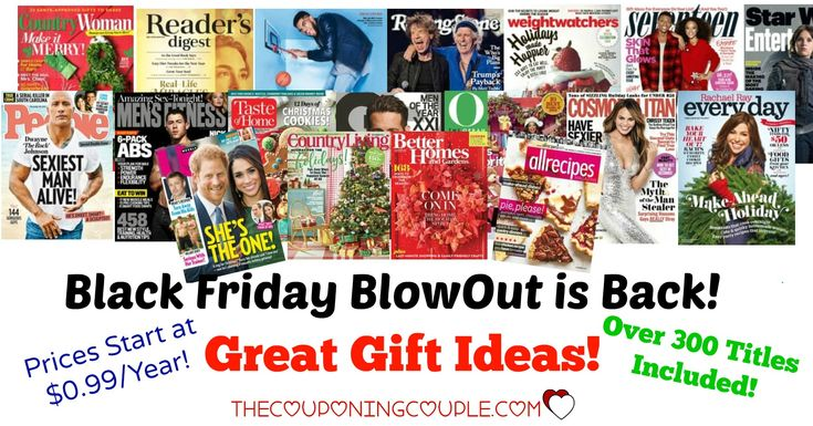 IN CASE YOU MISSED IT! The Discount Mags Black Friday Blowout is back! Over 300 mags! Starting as low as $0.99! Grab some awesome gifts!  Click the link below to get all of the details ► http://www.thecouponingcouple.com/discount-mags-black-friday-blowout/ #Coupons #Couponing #CouponCommunity  Visit us at http://www.thecouponingcouple.com for more great posts!