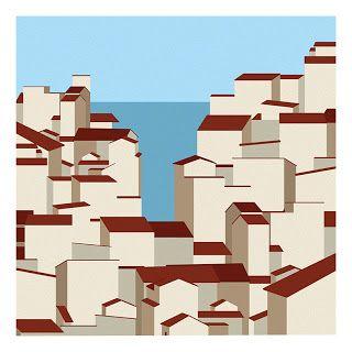 Town #illustration #illustration