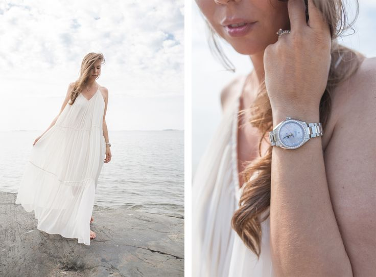Omega Seamaster Women's watch photo by Karoliina Jääskeläinen / Valoon Photography